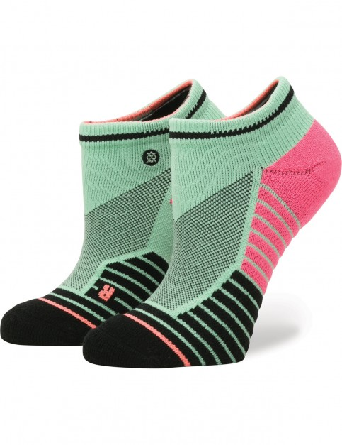 Stance Acapulco Low Crew Socks in Seafoam