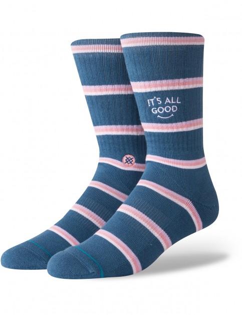 Stance All Good Crew Socks in Blue