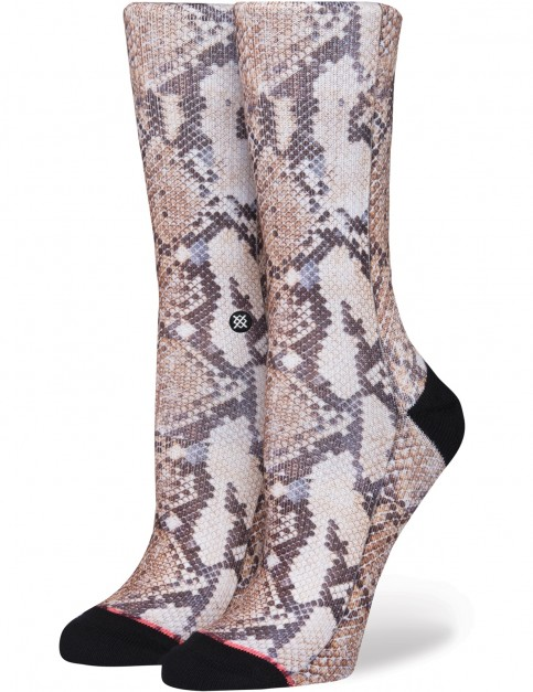 Stance Anaconda Crew Socks in Black