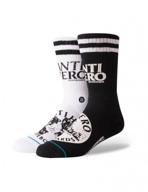 Stance Antihero Crew Socks in Black