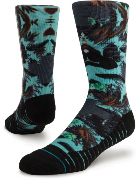 Stance Aqua Cabo Crew Socks in Multi Colour