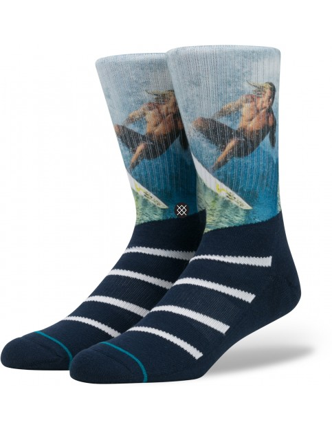 Stance Archbold Socks in Navy