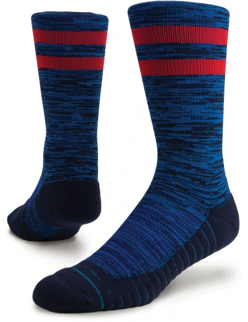 Stance Athletic Franchise Crew Socks in Blue