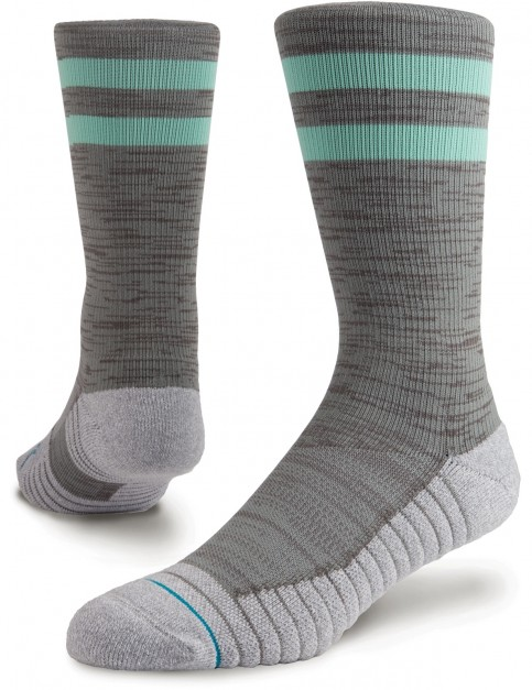 Stance Athletic Franchise Crew Socks in Grey