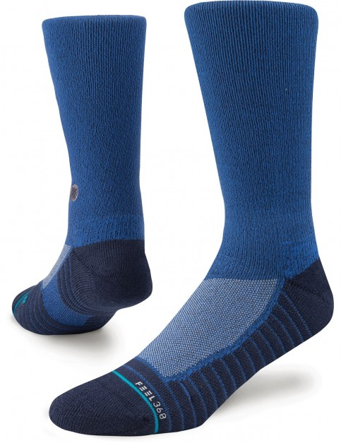 Stance Athletic Icon 2 Crew Socks in Blue