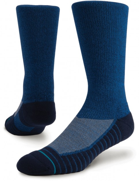 Stance Athletic Icon Crew Socks in Blue