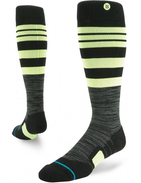 Stance Augite Snow Socks in Black