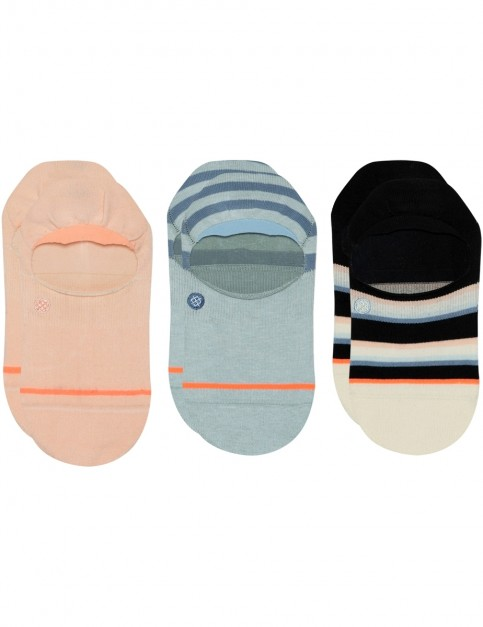 Stance Back To Basic 3 Pack No Show Socks in Multi