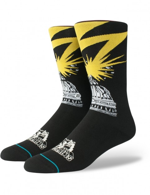 Stance Bad Brains Crew Socks in Black