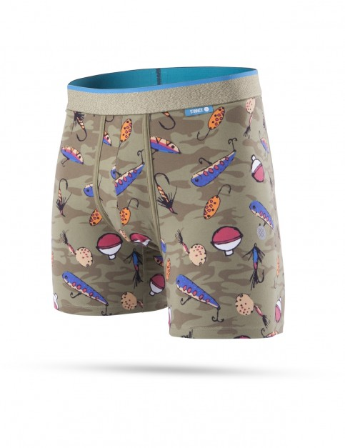 Stance Bait And Tackle Underwear in Green