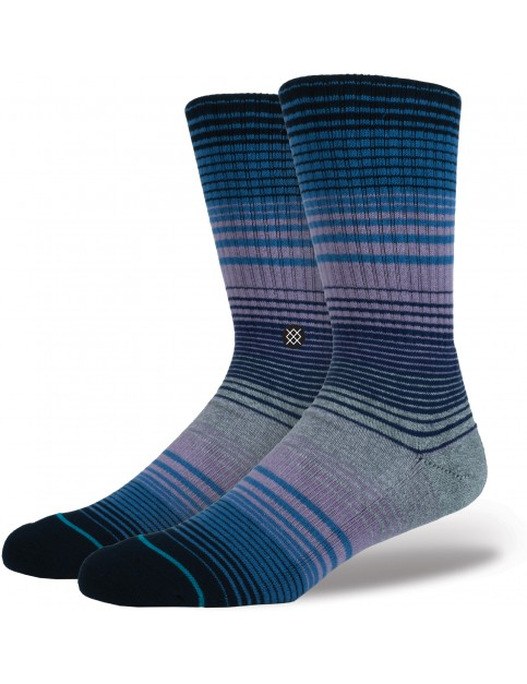 Stance Baja Norte Crew Socks in Purple