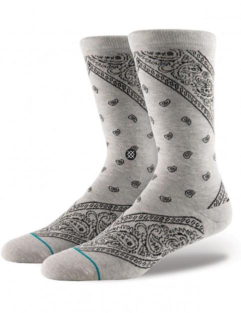 Stance Barrio Crew Socks in Grey
