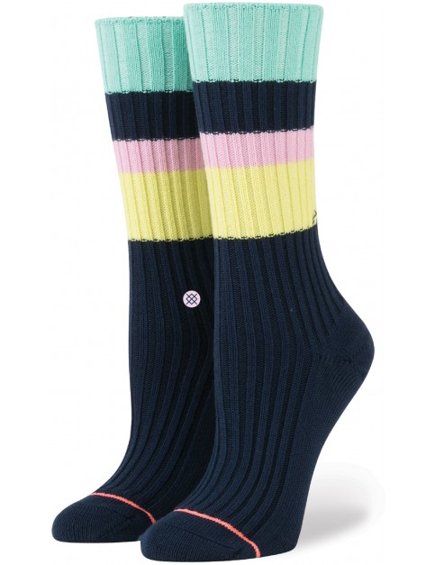 Stance Basically Basic Socks in Navy