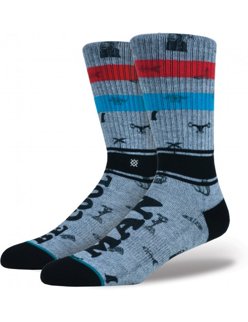 Stance Be Cool Crew Socks in Rust