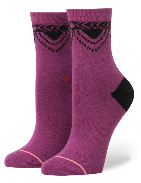 Purple Stance Beatrix Socks