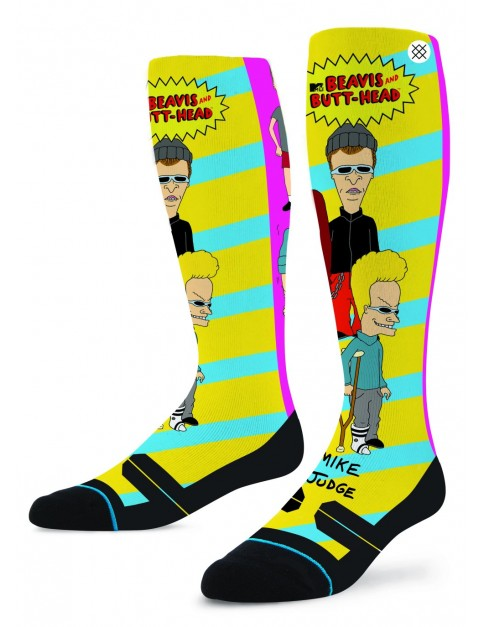 Stance Beavis And Butthead Snow Socks in Black