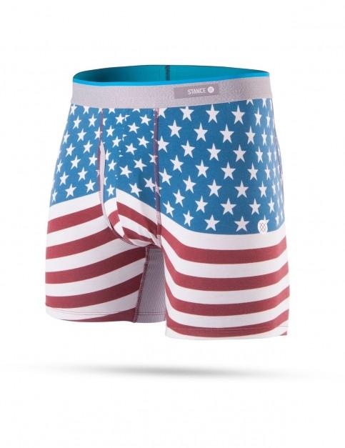 Stance Bicentennial Underwear in Red