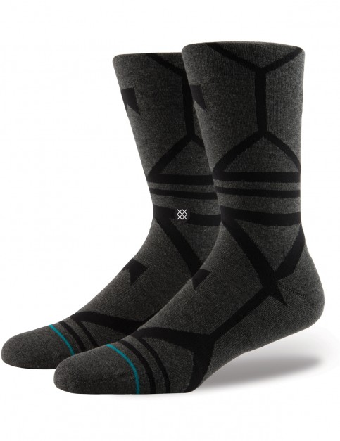 Stance Blackhills Crew Socks in Black