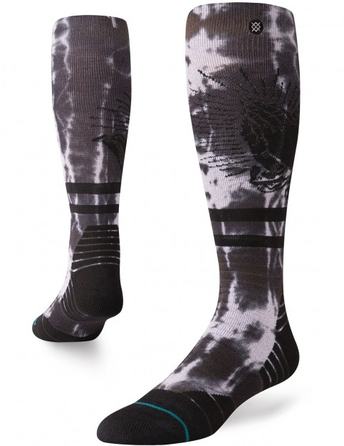 Stance Bless Up Snow Socks in Grey
