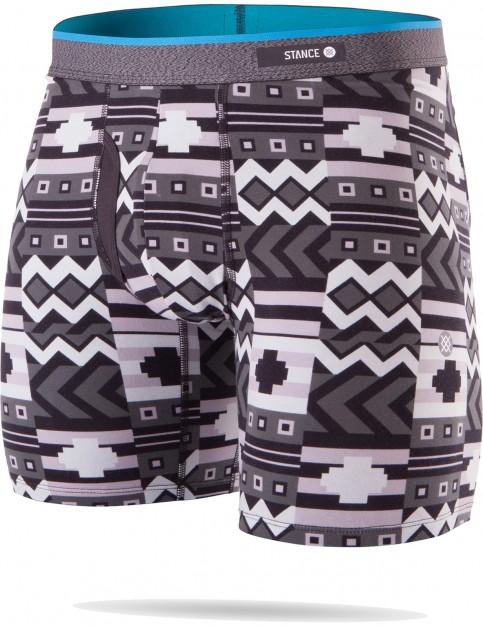 Stance Block Puzzle Underwear in Black