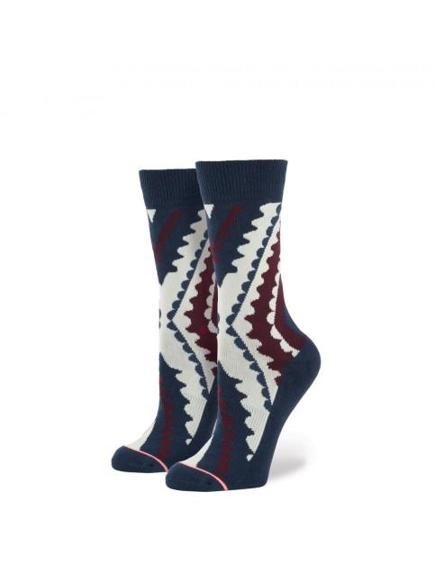 Stance Boardwalk Socks in Navy