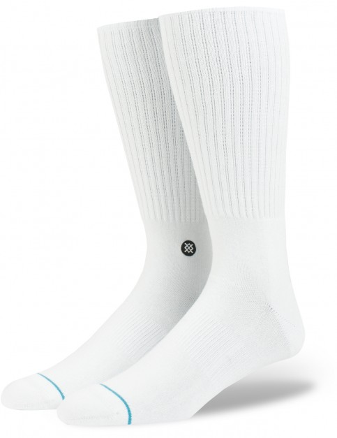 Stance Bombers Crew Socks in White