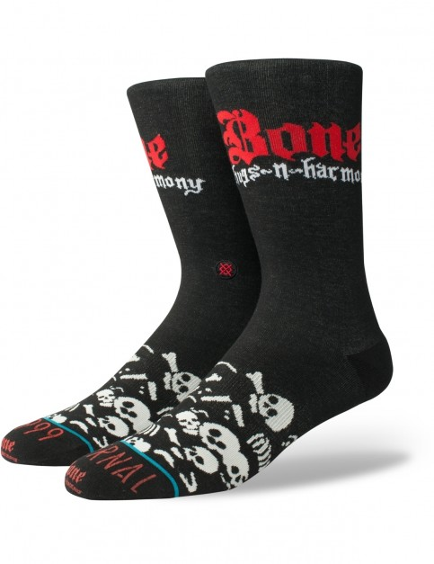Stance Bone Thugs Crew Socks in Black