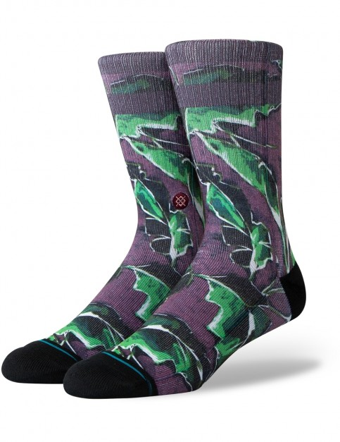 Stance Bonero Crew Socks in Maroon