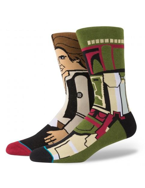 Stance Bounty Socks in Green