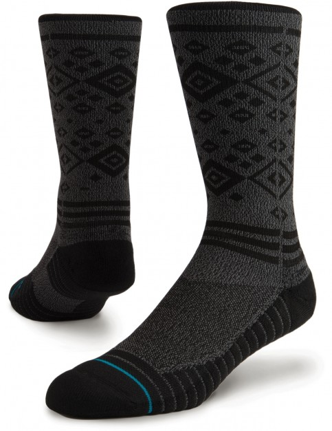 Stance Boyes Crew Socks in Grey