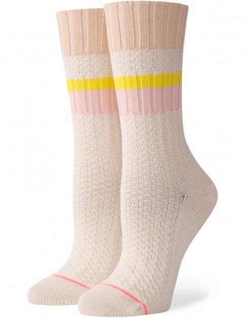 Stance Breaktime Crew Socks in Cream