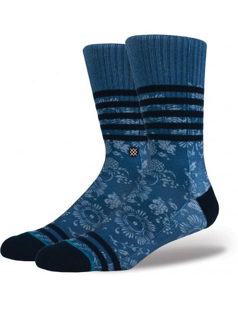 Stance Briar Crew Socks in Periwinkle