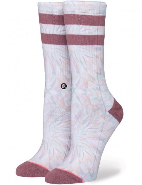 Stance Brooke Reidt Crew Socks in White