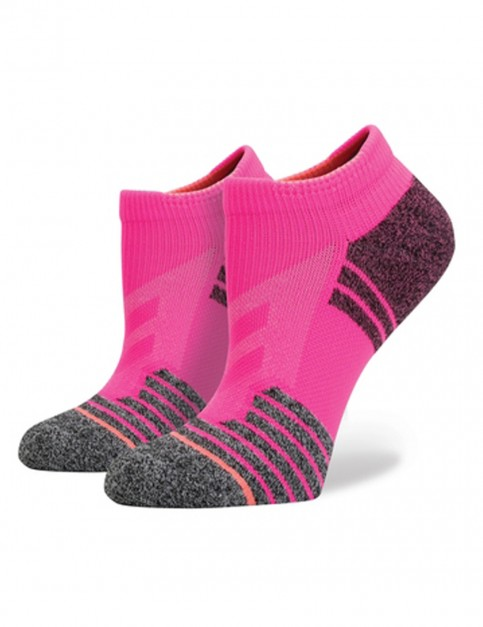 Pink Stance Burn Low Socks