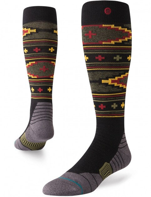 Stance Burnside Snow Socks in Black