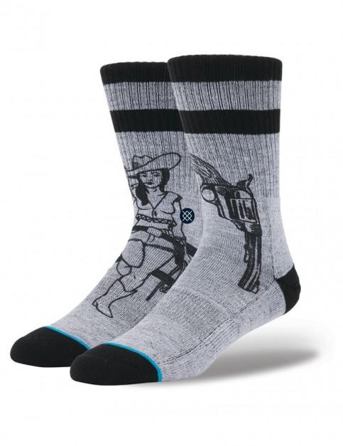 Stance Bush League Socks in Grey