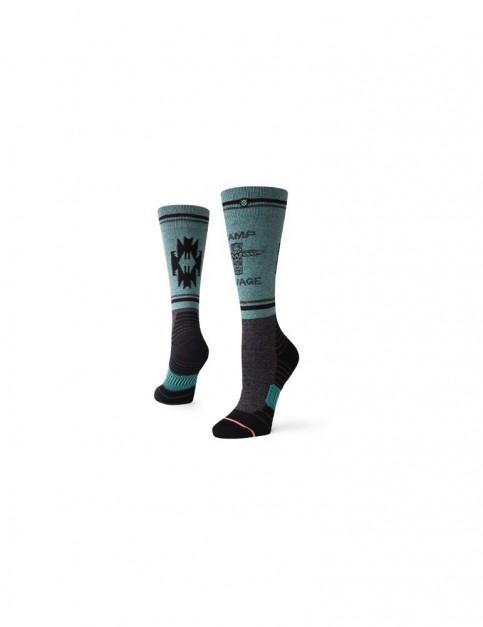 Stance Camp Savage Crew Socks in Black