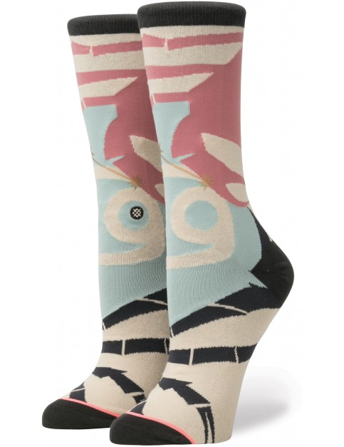 Multi Stance Cancer Crew Socks