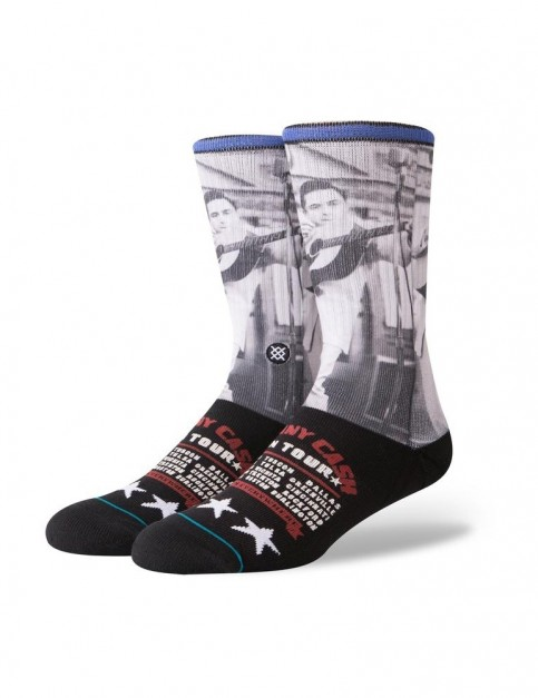 Stance Cash On Tour Crew Socks in Black