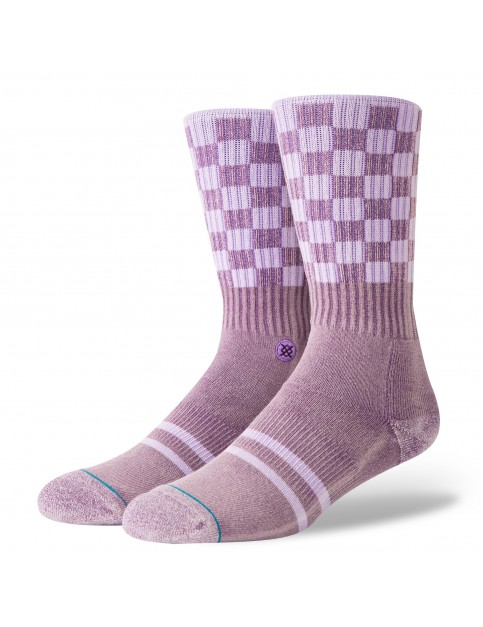 Stance Check Me Out Crew Socks in Violet