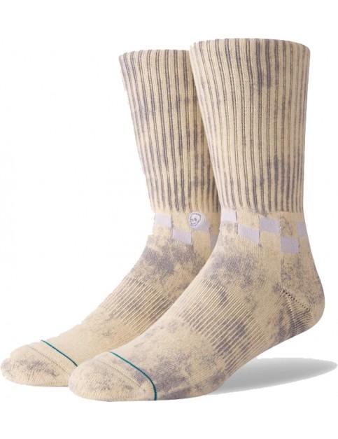 Stance Checkness Crew Socks in Grey
