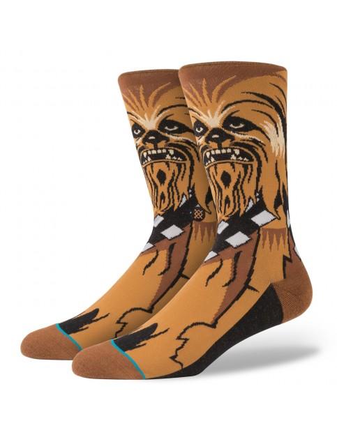 Brown Stance Star Wars Chewie Socks