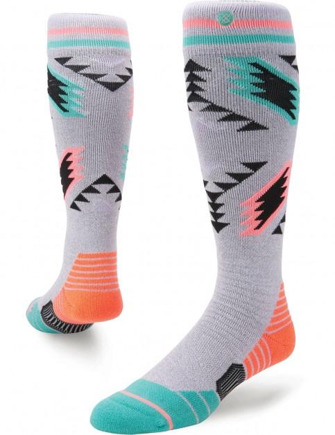 Stance Chickadee Snow Socks in Grey