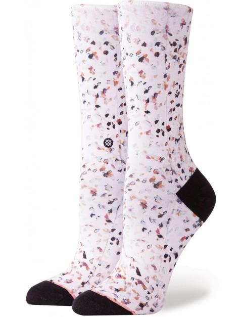 Stance Chiqueta Crew Socks in White