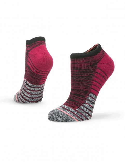 Stance Circuit Low No Show Socks in Wine