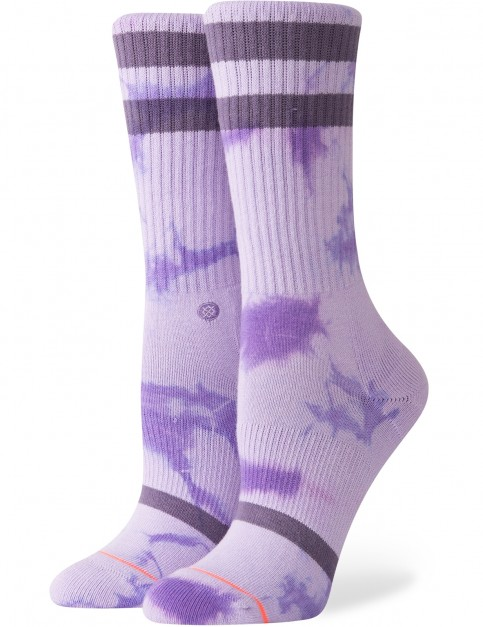 Stance Classic Uncommon Crew Crew Socks in Purple