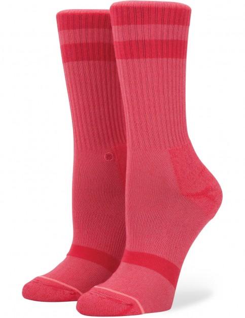 Stance Classic Uncommon Crew Crew Socks in Red