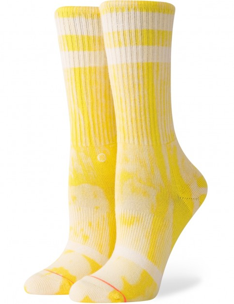 Stance Classic Uncommon Crew Crew Socks in Yellow