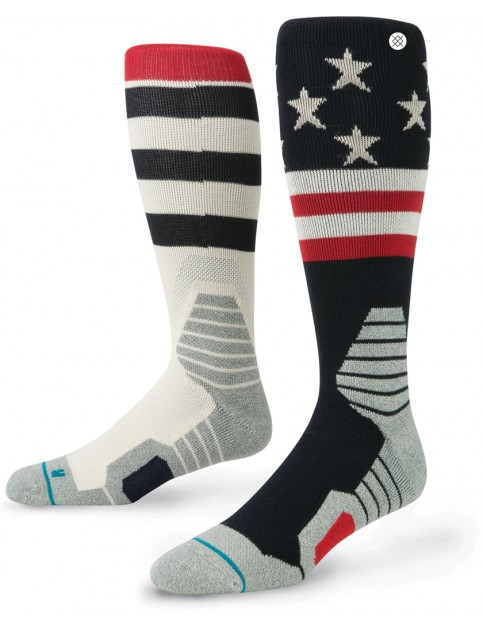 Stance Clawhammer Snow Socks in Navy