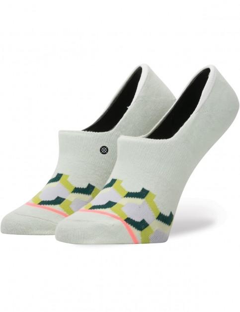 Stance Clutch No Show Socks in Mint